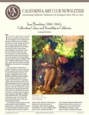 California Art Club Newsletter