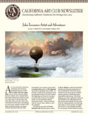 Jules Tavernier - Scott Shields, California Art Club Newsletter, Summer-Fall 2014
