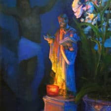 """American Legacy Fine Arts presents """" St. Paul, the Light of Ephesus"""" a painting by peter Adams."""