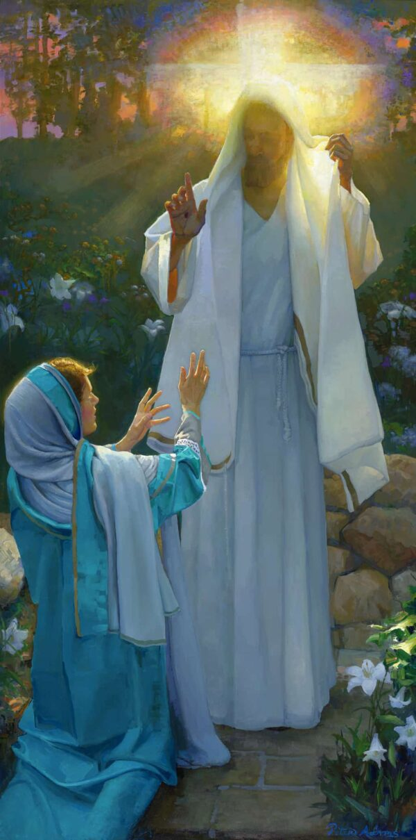 """American Legacy Fine Arts presents """"The Resurrection"""" a painting by Peter Adams."""