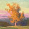 """American Legacy Fine Arts presents """"The Last Flame of Day"""" a painting by Alexey Steele"""