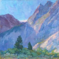"""American Legacy Fine Arts presents """"Morning Praise"""" a painting by Amy Sidrane"""