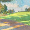 """American Legacy Fine Arts presents """"Afternoon Drive at Eleven"""" a painting by Daniel W. Pinkham"""