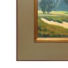 """American Legacy Fine Arts presents """"South Course B & B"""" a painting by Michael Obermeyer"""