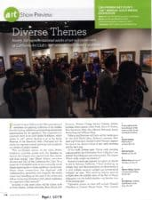 American Legacy Fine Arts presents Warren Chang in American Art Collector magazine, April 2017 issue.