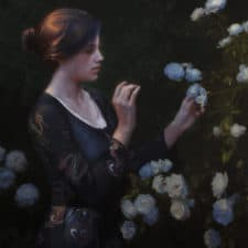 """American Legacy Fine Arts presents """"Anticipation"""" a painting by Adrian Gottlieb."""