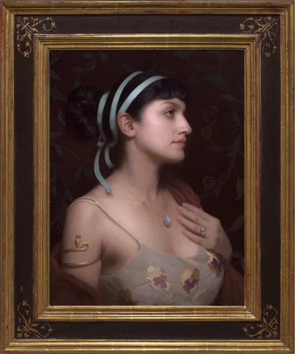 """American Legacy Fine Arts presents """"Azure"""" a painting by Adrian Gottlieb."""