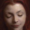 "American Legacy Fine Arts presents ""Crimson"" a painting by Adrian Gottlieb."