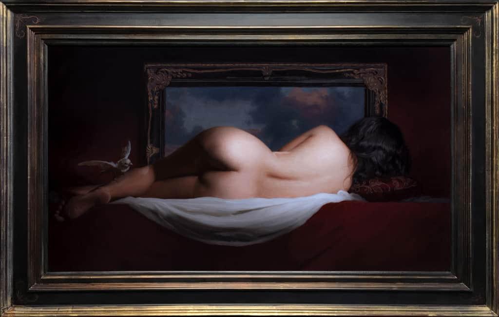 "American Legacy Fine Arts presents ""Magic Mirror"" a painting by Adrian Gottlieb."
