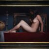 """American Legacy Fine Arts presents """"Pasithea"""" a painting by Adrian Gottlieb."""