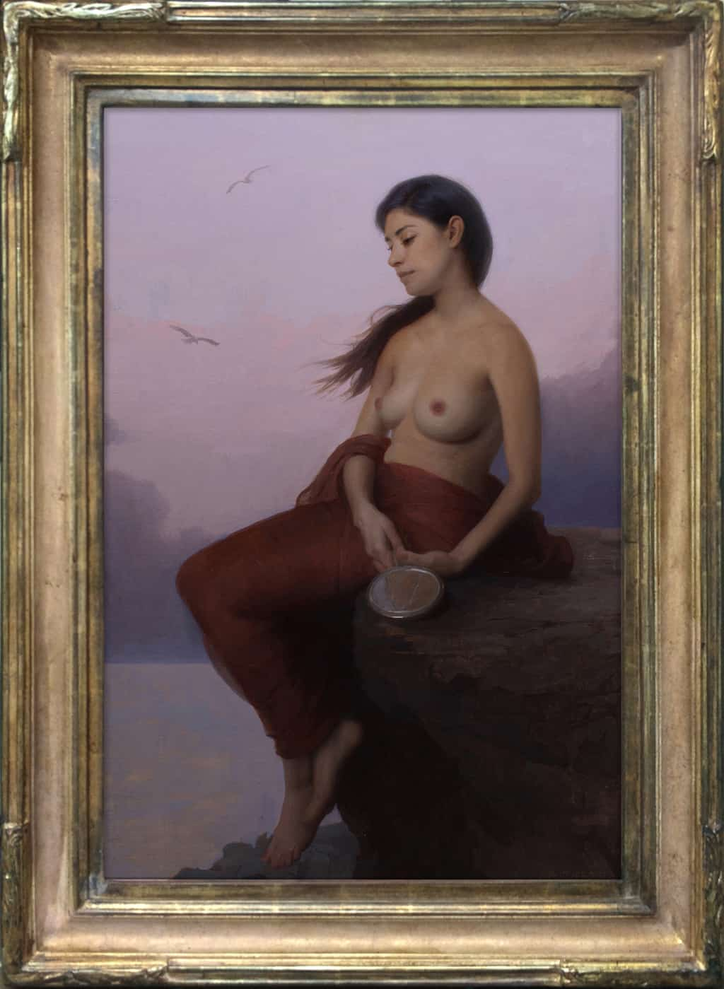 """American Legacy Fine Arts presents """"Siren Song"""" a painting by Adrian Gottlieb."""