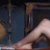 """American Legacy Fine Arts presents """"Study for Pasithea"""" a painting by Adrian Gottlieb."""