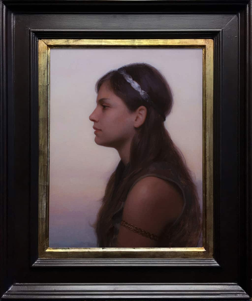 "American Legacy Fine Arts presents ""Sunrise"" a painting by Adrian Gottlieb."