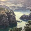 """American Legacy Fine Arts presents """" Into the Mist"""" a painting by Dennis Doheny."""