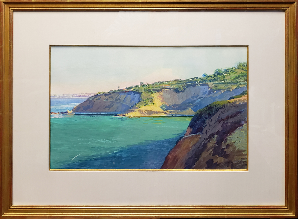 """American Legacy Fine Arts presents """"Morning at Bluff Cove"""" a painting by Richard Humphrey."""