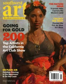 American Legacy Fine Arts presents Mian Situ on the cover of Southwest Art Magazine, June 2018.
