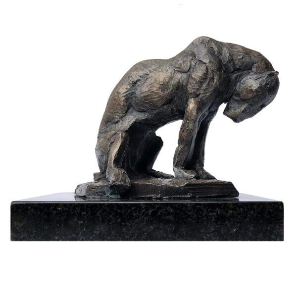 "American Legacy Fine Arts presents ""The Hunter Study"" a Sculpture by Adam Matano."