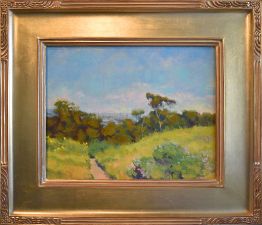 """American Legacy Fine Arts presents 'A Breezy Day on Chandler Preserve"""" a painting by Richard Humphrey."""