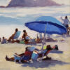 """American Legacy Fine Arts presents """"Beach Colors"""" a painting by John Cosby."""