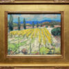 """American Legacy Fine Arts presents """"Paso Vines; Paso Robles, California"""" a painting by Karl Dempwolf."""