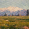 """American Legacy Fine Arts presents """"Winter Ranches"""" a painting by Michael Obermeyer."""
