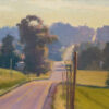 """American Legacy Fine Arts presents """"The Road Less Traveled; Door County, WI"""" a painting by Michael Obermeyer."""