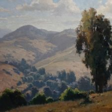 """American Legacy Fine Arts presents """"Worlds Away"""" a painting by Michael Obermeyer."""