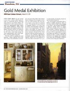 American Legacy Fine Arts presents Michael Obermeyer in Southwest art Magazine, March/ April 2019.