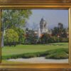 """American Legacy Fine Arts presents """"View from the 18th Green"""" a painting by Alexander V. Orlov"""