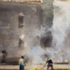 """American Legacy Fine Arts presents """"Afternoon Burn"""" a painting by Andy Evansen."""