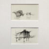 """American Legacy Fine Arts presents """"Drawing1"""" a painting by David Dibble."""