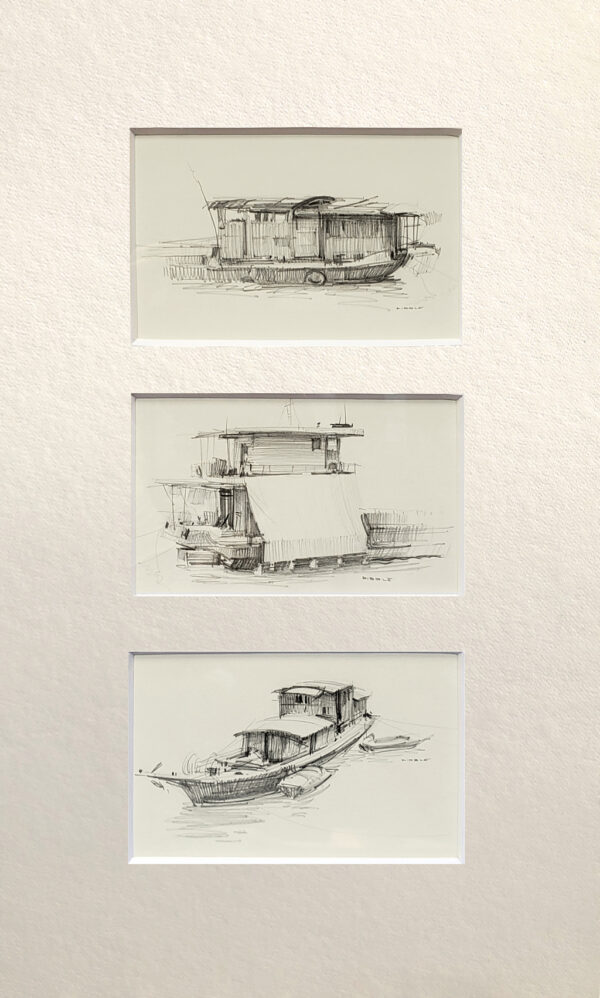 """American Legacy Fine Arts presents """"Drawing2"""" a painting by David Dibble."""