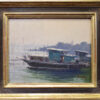 """American Legacy Fine Arts presents """"Life On The River"""" a painting by John Budicin."""