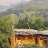 """American Legacy Fine Arts presents """"Eel Seller"""" a painting by Joseph Paquet."""