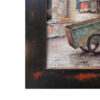 """American Legacy Fine Arts presents """"Rubbish Collector; Small Village near Kaiping, China"""" a painting by Keith Bond."""