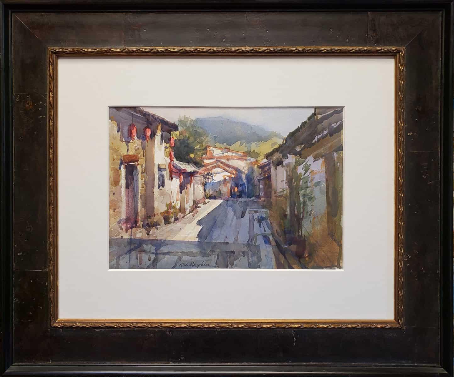 "American Legacy Fine Arts presents ""Gu Zhen"" a painting by Kevin Macpherson."