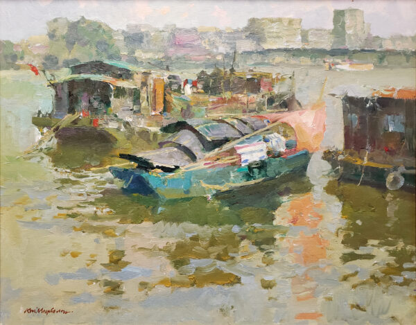"""American Legacy Fine Arts presents """"Kai Ping Jai"""" a painting by Kevin Macpherson."""