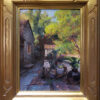 """American Legacy Fine Arts presents """"Alley Yard"""" a painting by Mian Situ."""