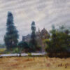 "American Legacy Fine Arts presents ""Da Tong Village"" a painting by W. Jason Situ."