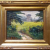 """American Legacy Fine Arts presents """"Rice Field"""" a painting by W. Jason Situ."""