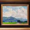 """American Legacy Fine Arts presents """"Summer Clouds"""" a painting by W. Jason Situ."""