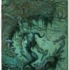 """American Legacy Fine Arts presents """"The Faun (Pan)"""" a painting by William Stout."""