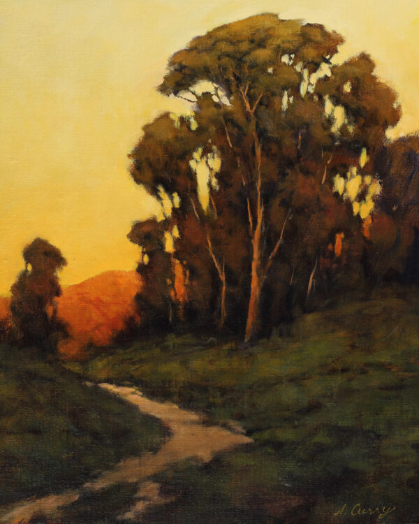 """American Legacy Fine Arts presents """"Natures Toll Road"""" a painting by Steve Curry."""
