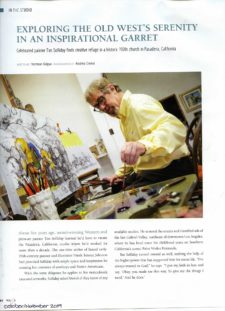American Legacy Fine Arts presents Tim Solliday featured in Western Art & Architecture Magazine, Winter 2019.