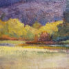 """American Legacy Fine Arts presents """"Afterglow"""" a painting by Amy Sidrane."""