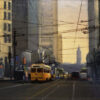 """American Legacy Fine Arts presents """"Morning on Market"""" a painting by Brian Blood."""