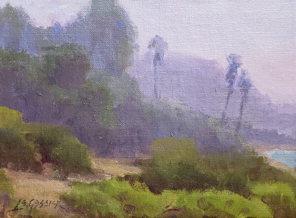 """American Legacy Fine Arts presents """"Path Along the Bluffs"""" a painting by Jean LeGassick."""