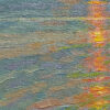 """American Legacy Fine Arts presents """"Golden Slumber"""" a painting by Jennifer Moses."""