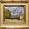 """American Legacy Fine Arts presents """"Foothill Barn"""" a painting by Keith Bond."""