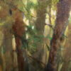 """American Legacy Fine Arts presents """"A Forest; Karelia, Russia"""" a painting by Nikita Budkov."""
